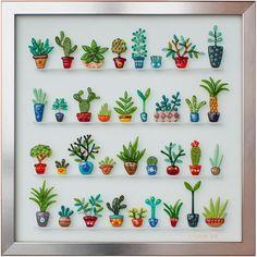 Fused Glass Plants. Fused Art Glass. Wall Art. - Delphi Artist Gallery