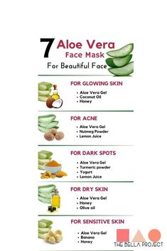 Aloe vera gel rejuvenates the skin, hydrates it and keeps your skin looking fresh all the time. It is an excellent moisturizer for skin. … in 2020 Aloe Vera For Skin, Aloe Vera Face Mask, Aloe Vera Gel, Aloe For Acne, Clear Skin Face, Face Skin Care, Diy Skin Care, Cc Creme, Natural Skin Care