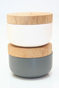 Ceramic Containers by Vincent Van Duysen