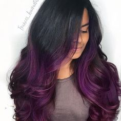 Her hair 💜💜💜