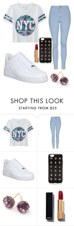 """""""Look dedicate to - babyariel"""" by lovelyangle ❤ liked on Polyvore featuring Aéropostale, Topshop, NIKE, J.Crew, Ippolita, Chanel, women's clothing, women, female and woman"""