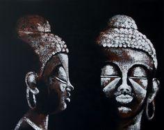 Acryl painting 80 x 100