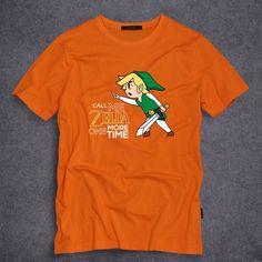 Legend of Zelda Wii Wii U Gameboy Nintendo DS SNES Classic Call me Zelda one more time Tee T-shirt