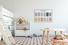 Times table poster. wall sticker fabric decal
