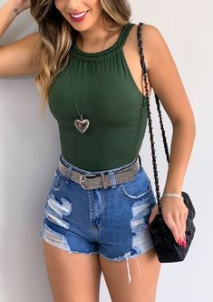 Cute Summer Outfits, Cute Casual Outfits, Chic Outfits, Fashion Outfits, Fashion Trends, Girl Outfits, Teenager Outfits, Outfit Goals, Mode Outfits