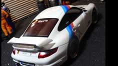 Porsche 911 GT2 2007 modified tuning 1:18 scale model by cs.diecast.tining