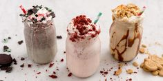 Holiday Ice Cream Desserts – Milkshakes for Christmas
