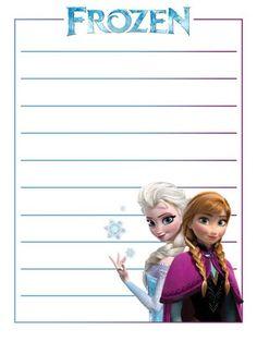 Journal Card - Frozen - Elsa - Anna - Lines - 3x4 Photo by pixiesprite | Photobucket