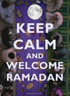 Ramadan is here Alhamdulillah