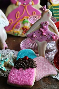 Mil Grageas, Sugar plum and her sweet treats!!!  Decorated cookies