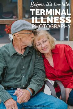 When Kathleen found out that her husband was dying of terminal cancer, she made an appointment to have their photos taken. They hadn't had a professional photo since their wedding. She is now a walking advocate for making sure you make being photographed a priority. Before it's too late!