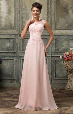 84efd666cd GK women dresses for wedding party Bridesmaid formal Sleeveless Chiffon  Dress elegant Pearl Beading Mesh maxi