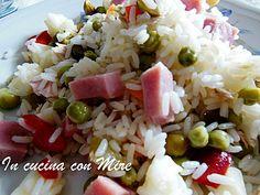 Insalata di riso senza maionese #gialloblogs #ricetta #foodporn #food #foodie #incucinaconmire #estate2016 #euro2016