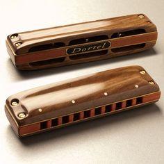 custom harmonica   Custom Rosewood Harmonica