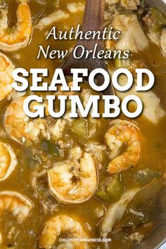 This authentic New Orleans style gumbo is loaded with seafood like shrimp, oysters, crab and catfish. This is the ultimate spicy Cajun seafood recipe. The Best Seafood Gumbo Chili Pepper Madness chili Creole Recipes, Cajun Recipes, Fish Recipes, Seafood Recipes, Donut Recipes, Shrimp Gumbo Recipes, Crab Gumbo Recipe, Seafood Diet, Fishing