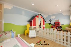 Bedroom design for our client (Mrs Caroline) in Jakarta, Indonesia.     Design theme : Countryside Cozy    By Kids Republik 2012