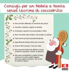 Consigli per un Natale sereno, senza rimpianti e lacrime di coccodrillo. #feste #natale #consiglinatale #mangiarenatale