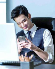 Kim Soo Hyun for One World Korean Star, Korean Men, Korean Celebrities, Celebs, Love From Another Star, Yoo Ah In, Park Bo Young, Poster Boys, Handsome Korean Actors
