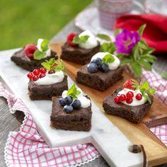 Brunch – bästa recepten Brunch, Afternoon Tea, Scones, Pudding, Vegetarian, Cupcakes, Cookies, Desserts, Grilling