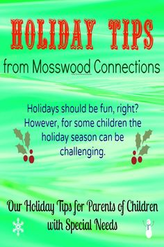 Holiday Tips for Children With Autism and Special Needs