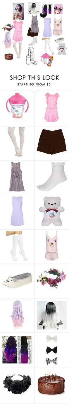 """Melanie Martinez pt 1 (cake/milk and cookies/sippy cup and teddy bear)"" by just-mrs-radke-no-bigdeal154 ❤ liked on Polyvore featuring Tervis, PIN UP STARS, Diane Von Furstenberg, River Island, Hue, Wildfox, Dorothy Perkins, Rock 'N Rose, Jim Beam and Accessorize"