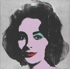 Warhol - Elizabeth Taylor