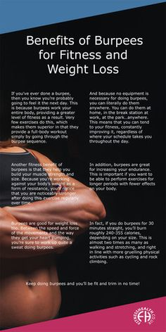 burpees exercise and weight loss