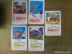 lote de calendarios fournier publicidad pegamento Imedio. diferentes años
