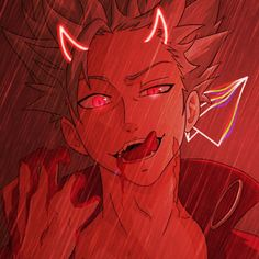Seven Deadly Sins Anime, 7 Deadly Sins, Red Aesthetic, Aesthetic Anime, Ban Anime, Best Anime Drawings, Mega Anime, Seven Deady Sins, Anime Wallpaper Phone