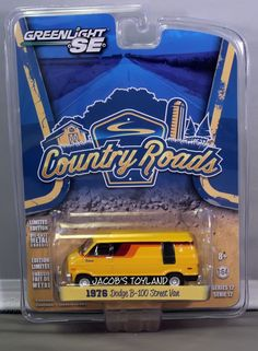 Greenlight Country Roads Series 12 * 1976 Dodge B-100 Street Van * Free Shipping #GreenLight #Dodge