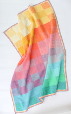 Hooray! I've finally finished writing up the pattern for my new blanket –…