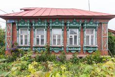 Русские резные наличники. Виртуальный музей.