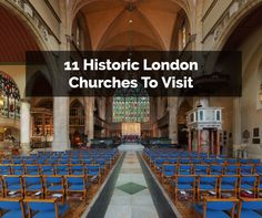 London is a place packed with history, culture and character and some of the most important points of interest have to be the city's historic churches. They are places popular with all tourists, regardless of their interest in religion.