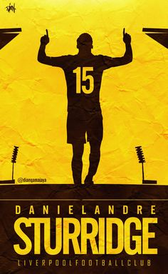 ♠ Daniel Sturridge #LFC #Artwork
