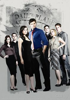 Smallville! Love this show! Don't let Jimmy near Doomsday