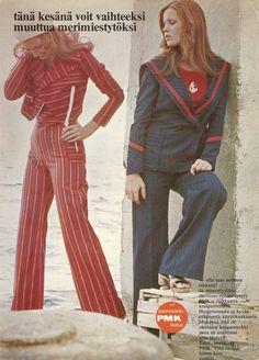 Mainos Muotisorja-lehdessä 1972 (70-luvulta, päivää ! -blogi)