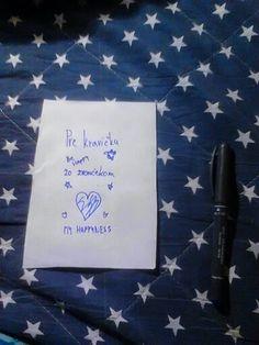 Na papier napíšte venovanie