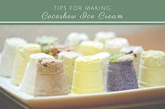 Tips for Making Cocoshew Ice Cream