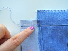 Sewing the Back Opening and Hem