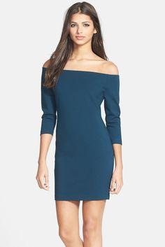 Glamorous Off the Shoulder Body-Con Dress 20. Nordstrom Rack.
