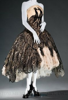 Alexander McQueen, peacock dress