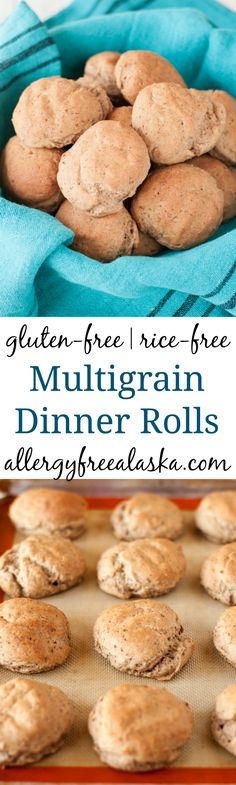 These hearty rolls are made from gluten free whole grains, yet are fluffy & soft. Perfect for sopping up all of that gravy-goodness on your holiday plates!