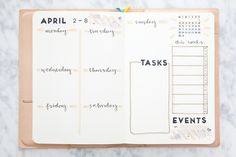 APRIL BULLET JOURNAL weekly spread layout bullet journal weekly spread ideas miss louie