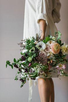 Florist Friday : Californian Garden Workshop - The Blue Carrot & Eothen | Flowerona