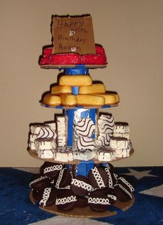 "White Trash Bash Cake Although it is not a ""cake"" I still want to share!!!"