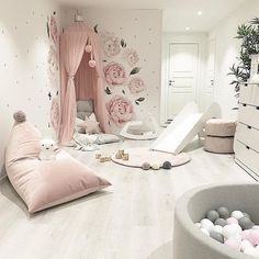 Gray Bed room Concepts from the tremendous glam to the extremely fashionable Little Girl Bedrooms, Bed For Girls Room, Baby Girl Room Decor, Baby Room Design, Girls Bedroom, Kids Bedroom Designs, Room Ideas Bedroom, Bed Room, My New Room