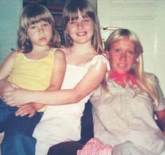 "abba4teens: ""A nice rare picture of Agnetha with her daughter Linda and someone else in 1977. """
