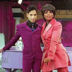 Prince and Oprah