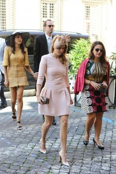 Princess Beatrice joined her Monegasque colleagues at the wedding.