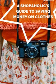 A Shopaholic's Guide To Being Thrifty. Wanna save money on clothes without giving up shopping? Here are some thrifty shopping tricks to help you treat yourself without breaking the bank